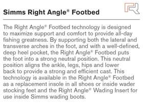 Right Angle Footbed